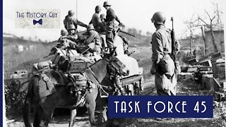 Task Force 45 and the Italian Campaign