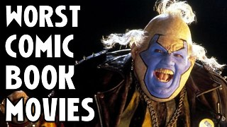 10 Worst Comic Book Films Of All Time - Video
