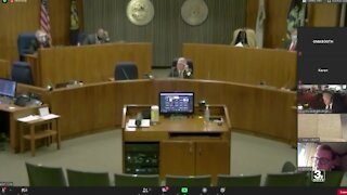 County board approves additional funding for the Justice Center Project in contentious meeting