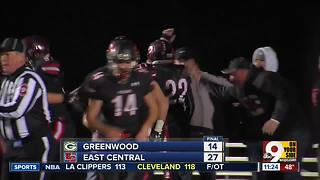 East Central 27, Greenwood 14 - Video