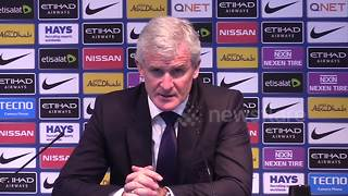 Mark Hughes: No excuses, City are world class - Video