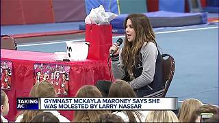 Gold medalist Mckayla Maroney says she was assaulted by Doctor Larry Nasser - Video