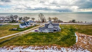 This Massive Lakeside Ontario Home For Sale Is Under $1M & Has Views For Days