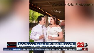 Couple gets married on Zoom despite the COVID-19 outbreak