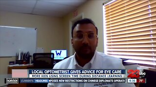 Protecting kids eye care during distance learning