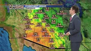 Above normal weekend warmth in the Valley - Video