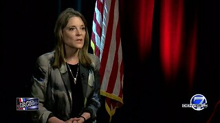 Presidential candidate Marianne Williamson discusses her candidacy, the debates and Mueller report