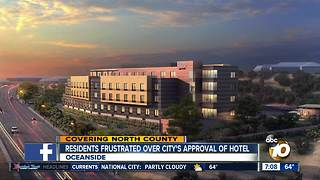 Oceanside frustrated over City's approval of hotel