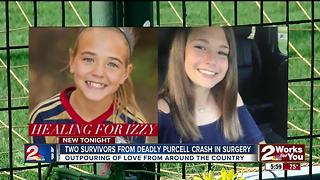Two Purcell crash survivors undergo surgery - Video