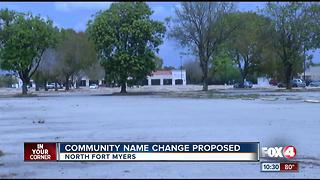Community name change proposed