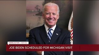 Joe Biden scheduled for Michigan visit on Friday