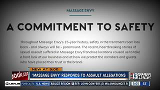 Massage Envy responds to assault allegations - Video