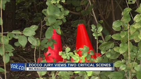 Jury visits alleged murder scene in Zocco trial