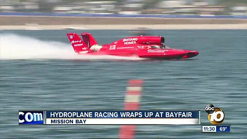 San Diegans pack Mission Bay for hydroplane racing