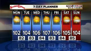 13 First Alert Weather for August 7 2017 - Video