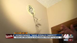 Burglars hit recently-sold Blue Springs home - Video