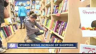 Local Businesses get a boost on Small Business Saturday - Video