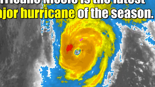Hurricane Nicole aims for Bermuda