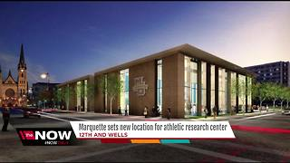 Marquette University downsizes, sets new location for athletic research center - Video