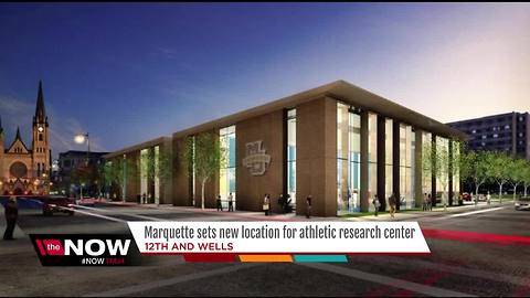Marquette University downsizes, sets new location for athletic research center