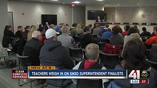 Shawnee Mission superintendent candidates meet with public Saturday - Video