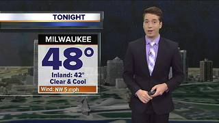 Josh Wurster's Wednesday 5pm Storm Team 4cast