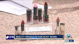 Beauty products for busy moms