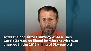 Jeff Sessions May Have Bad News for Illegal Immigrant Found 'Not Guilty' of Kate Steinle Murder - Video