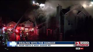 Cause known for apartment fire displacing residents - Video