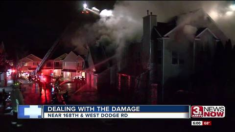 Cause known for apartment fire displacing residents