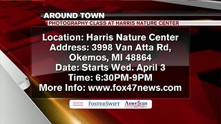 Around Town 4/2/19: Photography Class at the Harris Nature Center