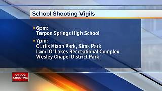 Vigils to be held across the state of Florida on Monday to honor Parkland school shooting victims