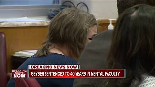 Morgan Geyser sentenced to 40 years in mental institution in Slender Man stabbing case - Video