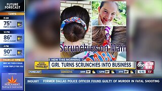 Pinellas Park girl helps shelter animals by selling her scrunchies