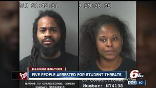Bloomington elementary school students arrested after social media gun threats - Video