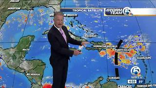 Tropical wave could bring wet weather