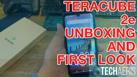 Teracube 2e Smartphone Unboxing and First Look