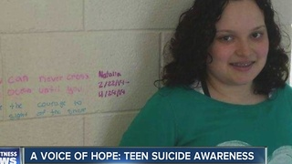 A Voice of Hope: Teen Suicide Awareness - Video
