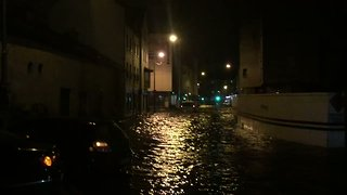 Storm Eleanor Causes Intense Flooding in Galway - Video