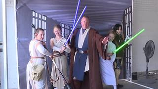 Star Wars fans raise money for charities at Boise Public Library Comic-Con - Video