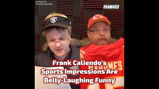 Frank Caliendo's Sports Impressions Are All Belly-Laughing Funny