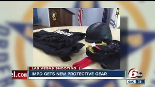 New armored protective vests delivered to the Indianapolis Metropolitan Police Department - Video
