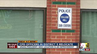 Moving day as Cincinnati Police District 5 moves from Clifton to College Hill - Video