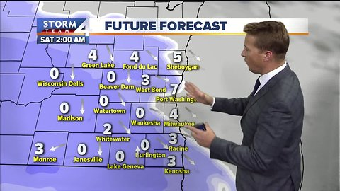 Storm Team midday 4Cast calls for snow tonight