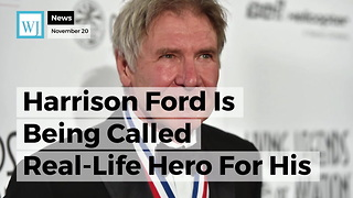 Harrison Ford Is Being Called Real-Life Hero For His Actions At Scene Of Car Accident - Video