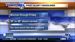 Wednesday morning forecast - Video