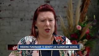 Wedding fundraiser to benefit Lee Elementary School after fire - Video
