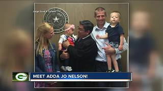 Packers' Jordy Nelson adopts baby before Cowboys game - Video