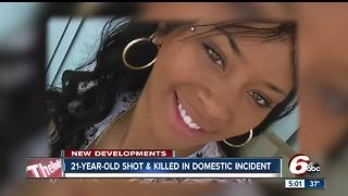 21-year-old murdered in possible domestic violence incident - Video