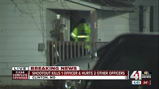 Clinton officer, 30, killed in shootout - Video